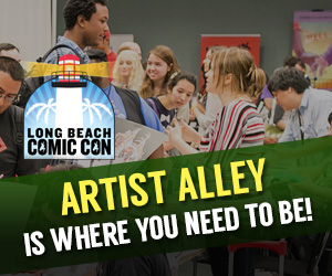 Artist Alley - Long Beach Comic Con